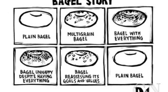drew-dernavich-bagel-story-an-allegory-about-life-1-plain-bagel-2-multigrain-bagel-3-new-yorker-cartoon
